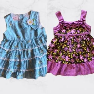 Other - 3/$12🦋 Toddler Dress Bundle (12-18 mos)